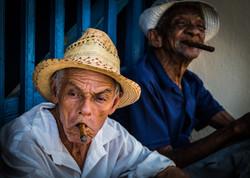 cigar break, Trinidad Cuba
