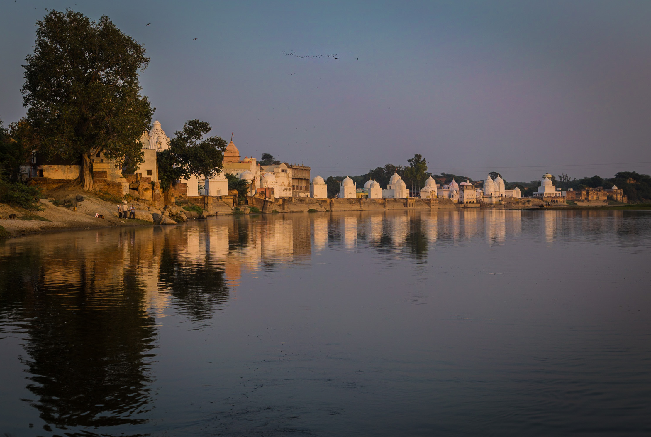 Bateshwar temples at sunset