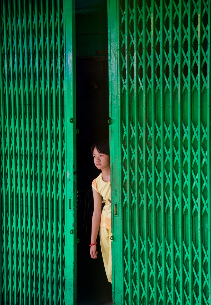 Indochina - green door girl