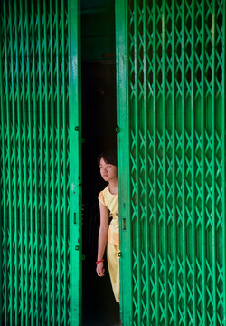 Indochina - green door girl