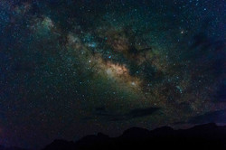 view of the galactic core