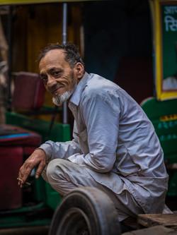 auto-rickshaw driver, Delhi India