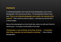 portraits introduction
