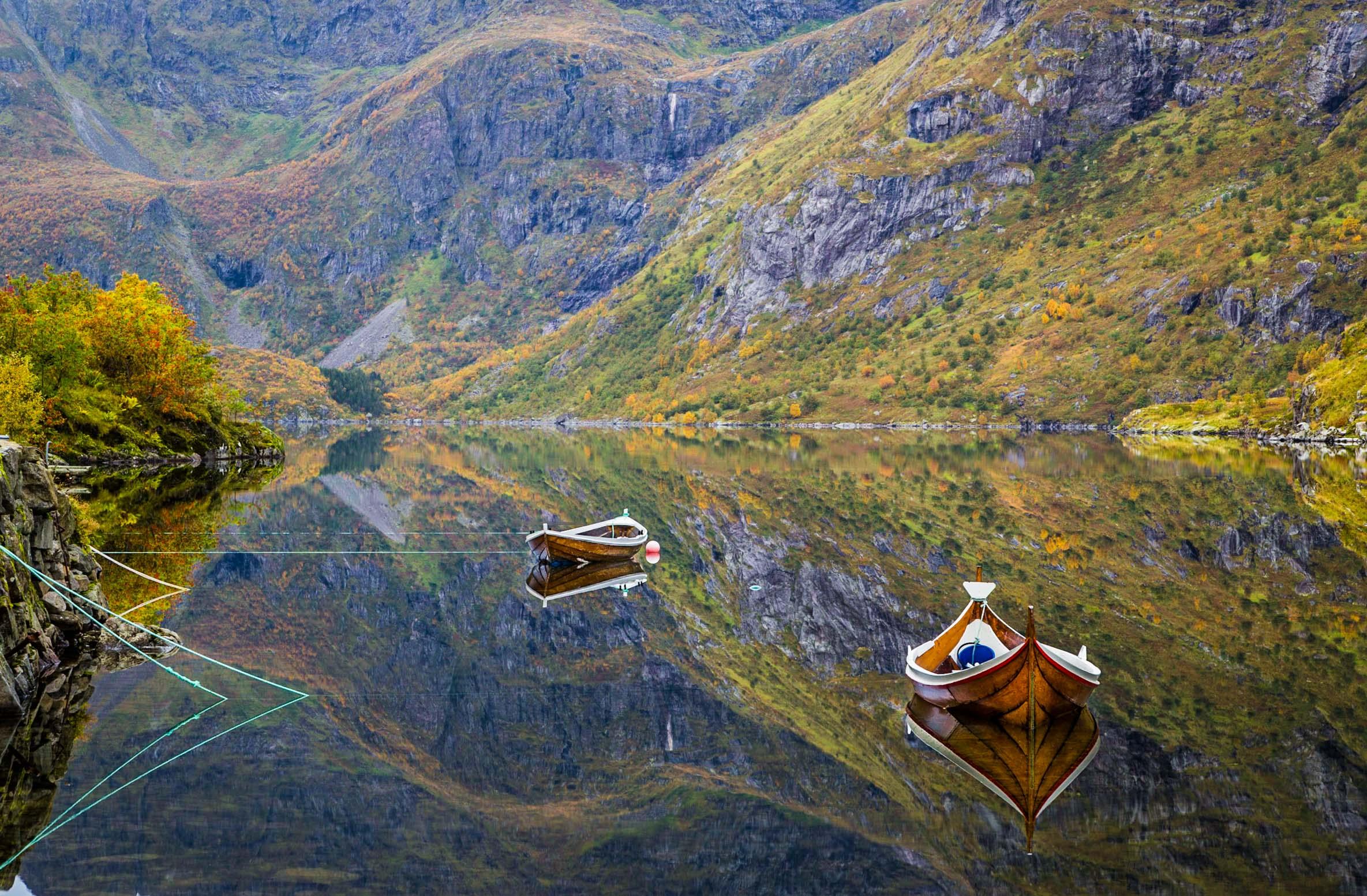 Ågvatnet lake
