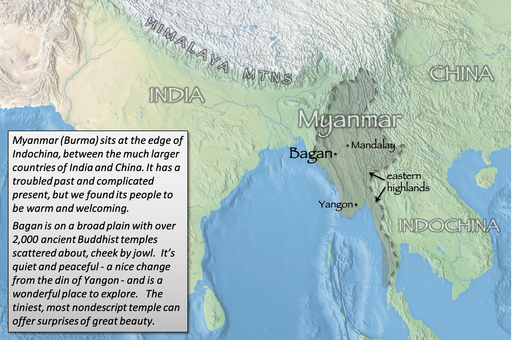 Bagan index map