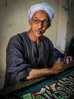 batik artist, Giza