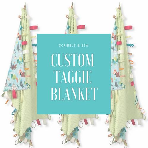Custom Taggie Blanket