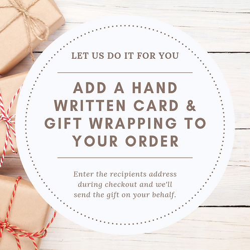 Card & Gift Wrapping