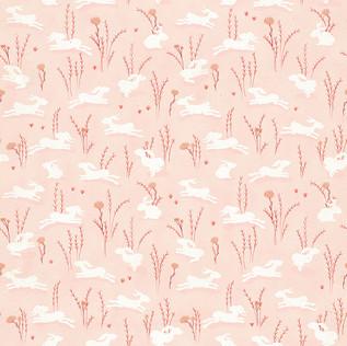 White hares blush