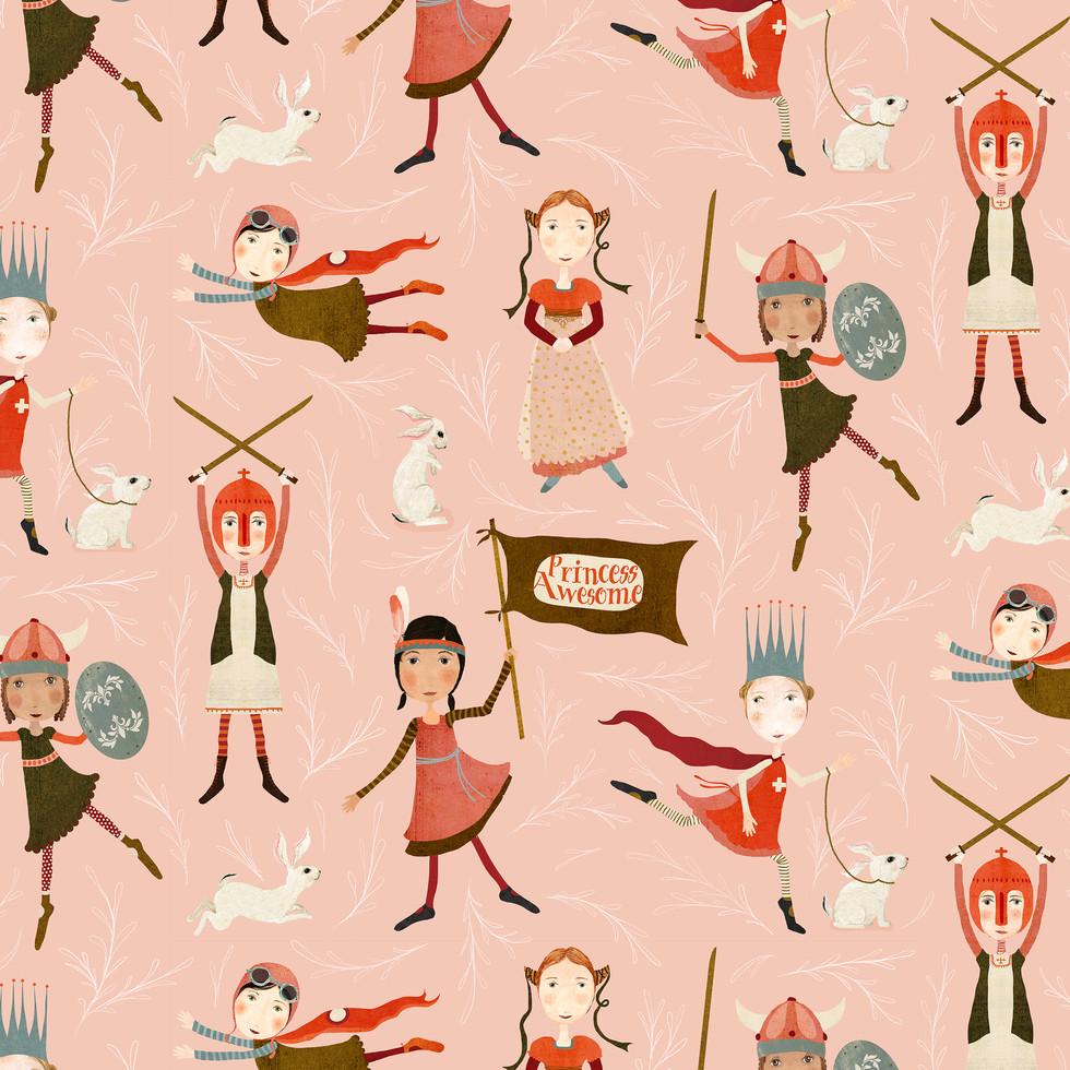 princess awesome pattern