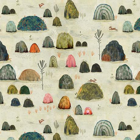 Mossy hills