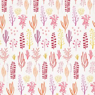 dino florals pink
