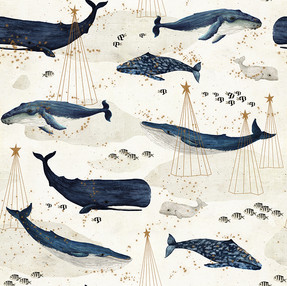 Christmas whales