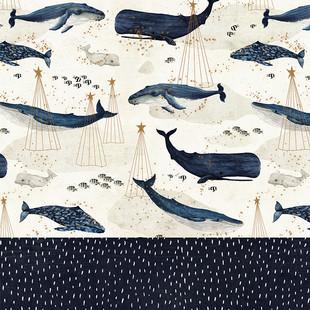 Whale Christmas and dash