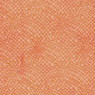 waves orange