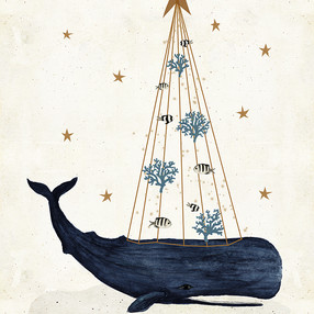 whale Christmas 2