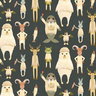 Arctic animals granite