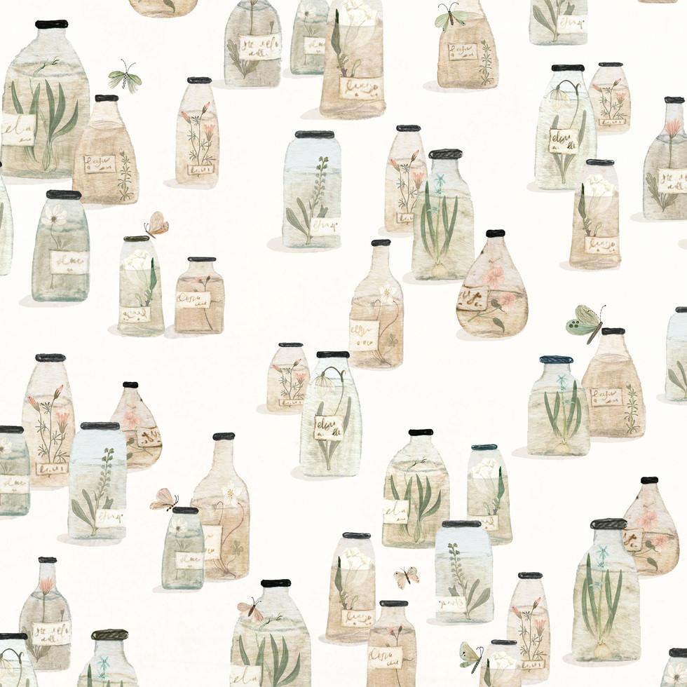 Specimen jar pattern