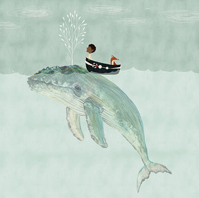 Whale illustrations