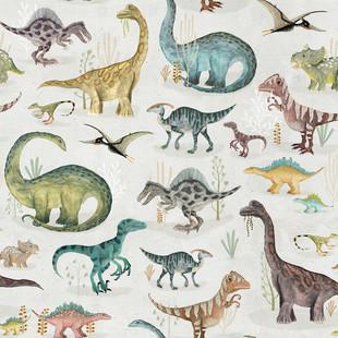 Dinosaurs pastel
