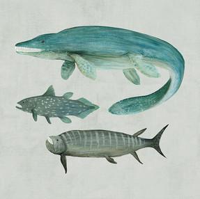 Marine Dinosaurs 1