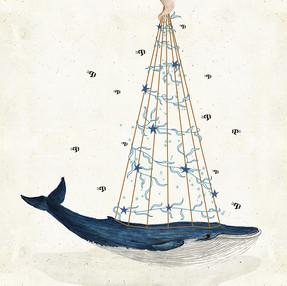 whale Christmas 1