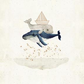beluga and his boat
