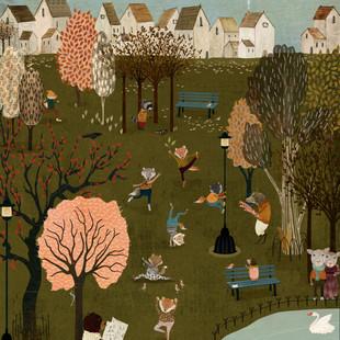 Park life illustration