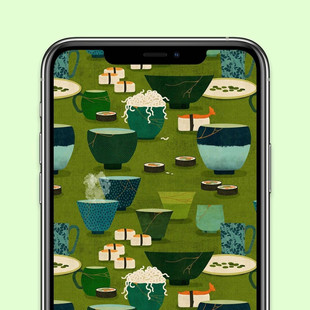 Borderleap Patterned App for Apple Arcade showing completed pattern