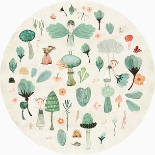 Flora and fauna circle