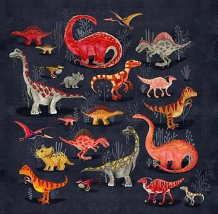 Parisian dinosaurs