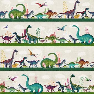 Bright dinosaur migration
