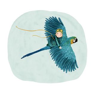 Macaw flyer