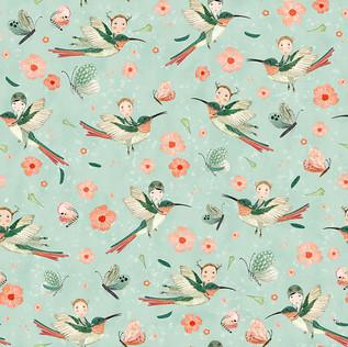 Hummingbird scouts mint