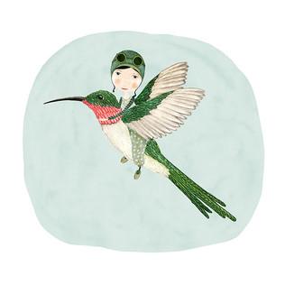Hummingbird flyer