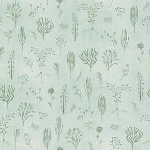 Floral line mint