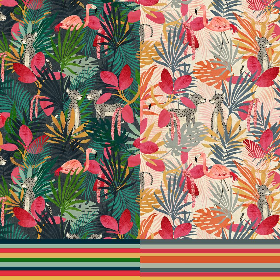 Tropicana jungle samples