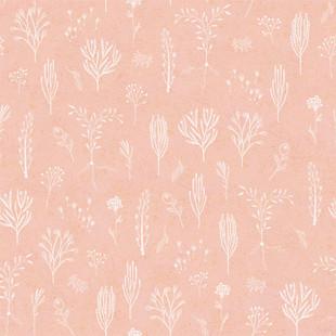 Floral line pink