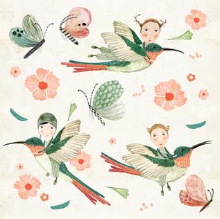 Hummingbird scouts