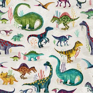 Bright dinosaurs