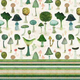 Mushroom and stripe