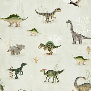 Ditsy dinosaurs