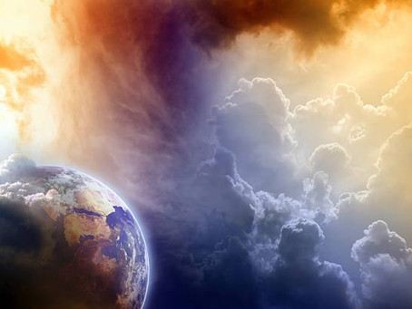 Looking at Earth, from Heaven