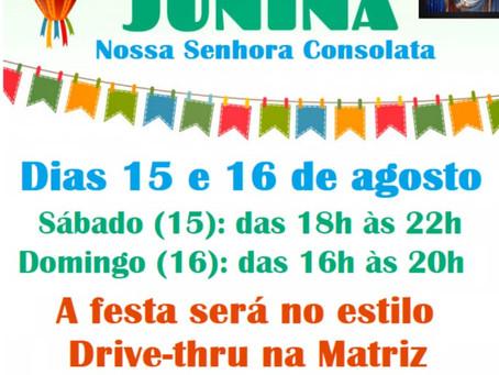 Festa Junina da Paróquia será 15 e 16 de agosto