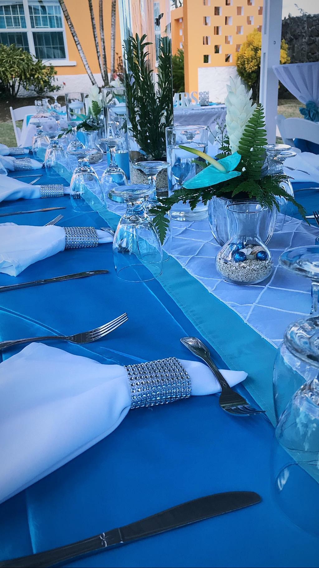 Aquatic Wedding Setting