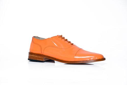 Zapato Charol naranja