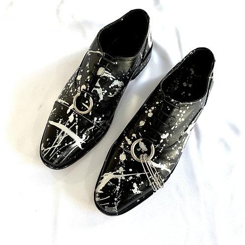 Zapato Aro Black Pollock