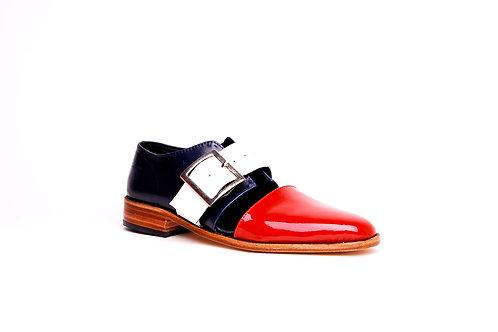 Zapato sandalia francia
