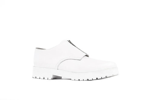 Zapato Cierre Blanco