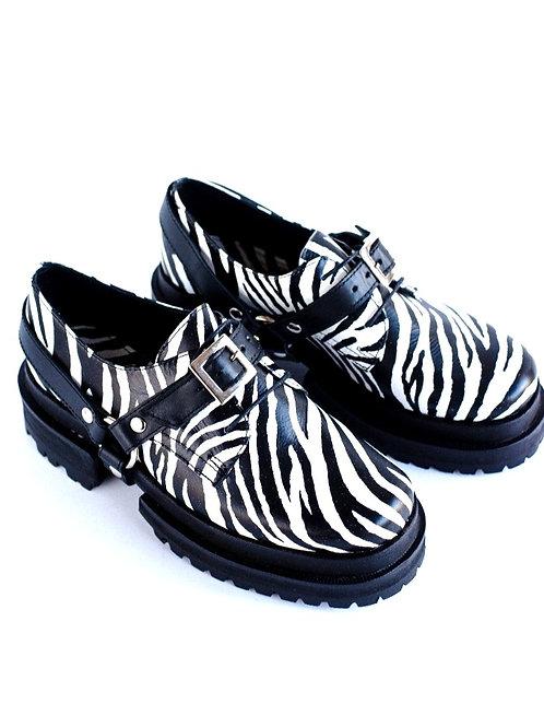 Zapato Woody Cebra